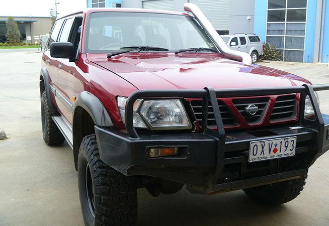 Gu Nissan Patrol 4inch 8